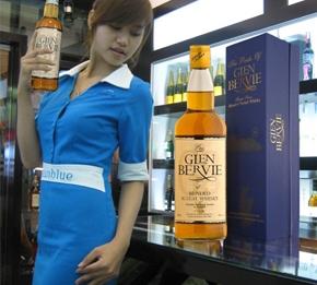Glenbervie whisky, rượu whisky, giá rượu whisky