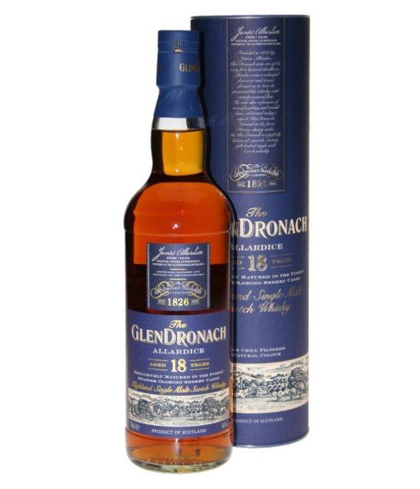 glendronach 18, rượu whisky, giá rượu whisky